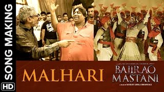 Making of Malhari from Bajirao Mastani