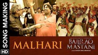 Making of Malhari from Bajirao Mastani