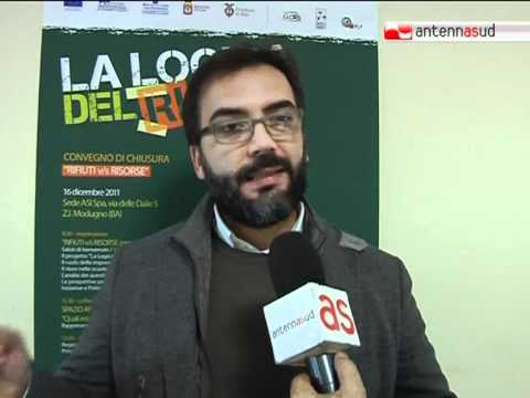 """TG 16.12.11 Rifiuti: a Bari la giornata conclusiva del progetto """"La Logica del riciclo"""""""