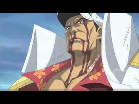One Piece: Whitebeard vs Akainu [Episode 484] (not an AMV)