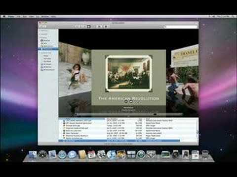 Apple - Mac OS X Leopard - A Guided Tour :: Pt.1