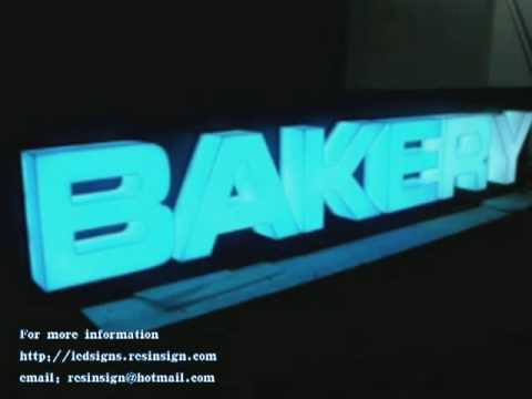Channel Letters LED Sign Letters