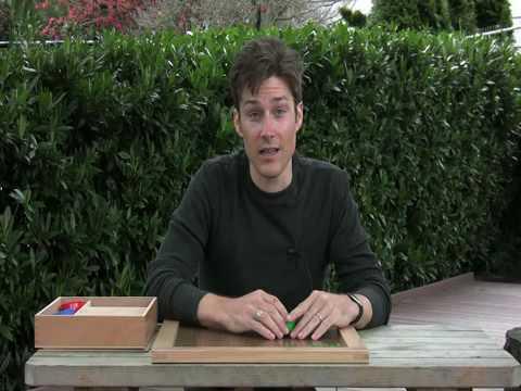 The Peg Board - Montessori Elementary