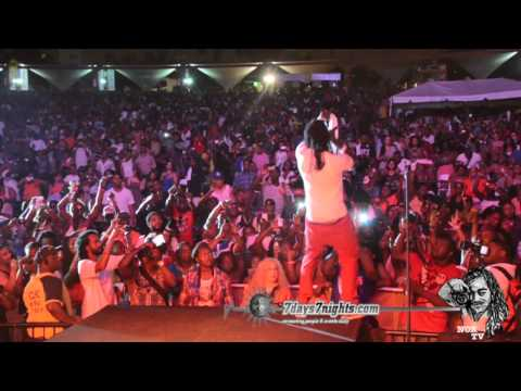 Mavado Full Performance At Best Of The Best 2012 Featuring DJ Khaled