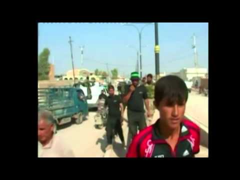 Celebration After (ISIS) 'Defeat' in Iraq Town