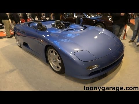 De Tomaso Guara Barchetta