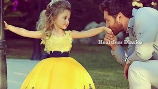 Baba mai teri malika tukda hu tere dil ka songFather nd daughter status for special father\'s day