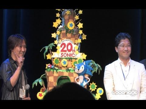 On The Spot - Sonic the Hedgehog 20th Anniversary Party E3 2011
