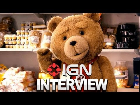 Talkin' Ted With Seth MacFarlane, Mark Wahlberg & Mila Kunis