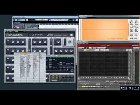 NI Massive Routing Tutorial -- Signal Flow & Insert Effects Walkthrough Video