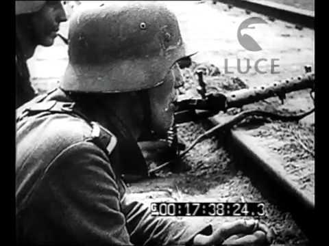 La guerra nel Mar Nero - Unità della Marina tedesca e rumena disseminano mine sulle rotte dei