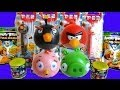 Angry Birds Surprise Eggs, Mash'ems, Blind Bags, & Pez Dispensers!
