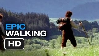 The Lord of the Rings Epic Walking Movie Mashup HD