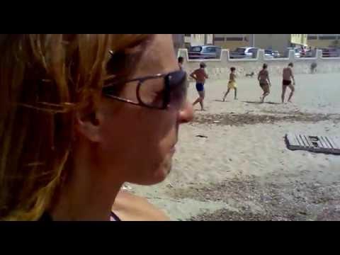 Inquinamento improvviso sulla spiaggia del cavallino 1/2 (Trapani) 08/07/2012