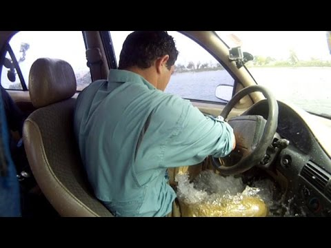 How to Survive if You Are Trapped in a Sinking Vehicle