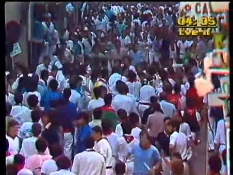 Encierro de San Fermín   11 de julio de 1985