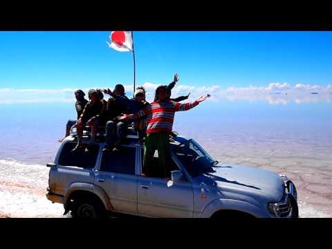 ボリビア・ウユニ塩湖の世界★ ウユニ塩湖を駆け巡る!!!