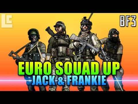 Squad Up With Jack, Frankie and Matimio (Battlefield 3 Gameplay/Commentary)