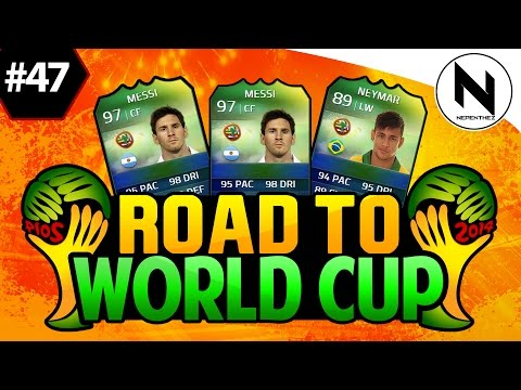 NEW SOUTH AMERICAN TEAM!! FIFA 14 Ultimate Team - Road to World Cup #47