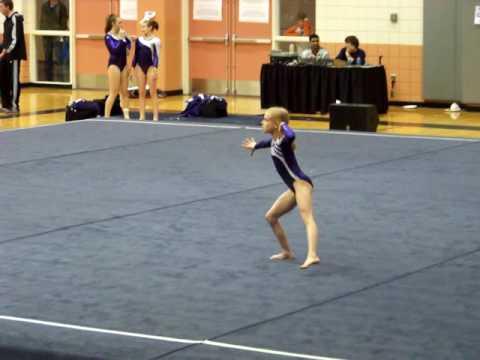 Level 7 Gymnastics floor routine