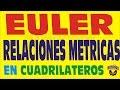 EL TEOREMA DE EULER EN LOS CUADRILATEROS EJERCICIOS RESUELTOS