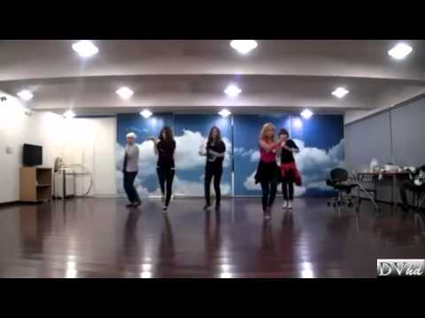 f(x) - Gangsta Boy (dance practice) DVhd