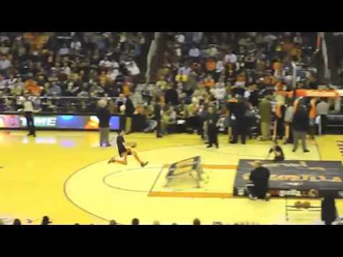 Phoenix Suns Half Time Show  - Human Dunk