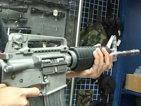Full Metal WE Tech M4 Gas Blowback Airsoft Rifle Carbine