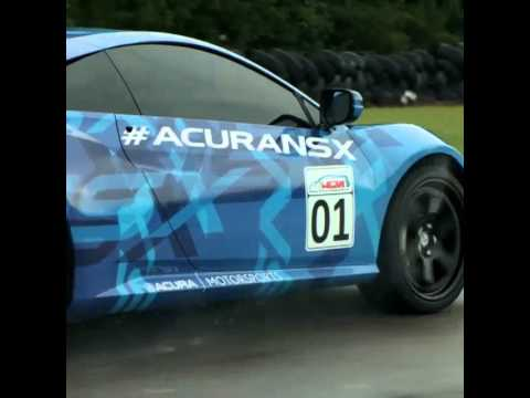 2014 Acura  on Premi  Re Vid  O Disponible De L   Acura Nsx 2015 Sur Piste   V12