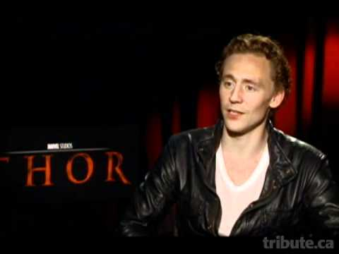 Tom Hiddleston -- Thor Interview