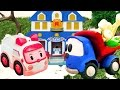 Грузовичок Лева и детские игрушки - Подснежники для Эмбер
