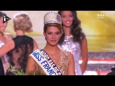 Camille Cerf élue Miss France 2015