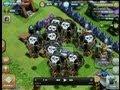 Clash of clans lvl 6 rage balloon attack bonbee style!