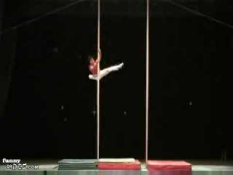 Extreme pole dancing (cool)