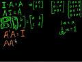 Фрагмент с средины видео - Idea behind inverting a 2x2 matrix | Matrices | Precalculus | Khan Academy