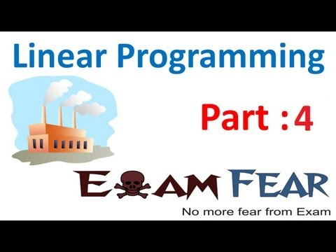 Maths Linear Programming part 4 (Example : Graphical Method) CBSE class 12 Mathematics XII