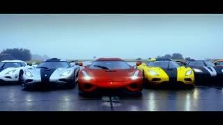 Koenigsegg устроил автопробег суперкаров