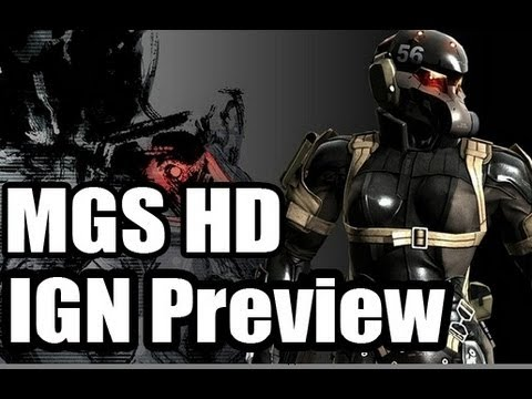 Metal Gear Solid HD Preview
