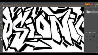 Digital Graffiti Tutorial - Photoshop Elements