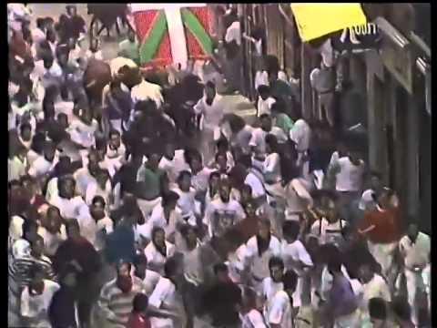 Encierro San Fermín   7 de julio de 1991 480p