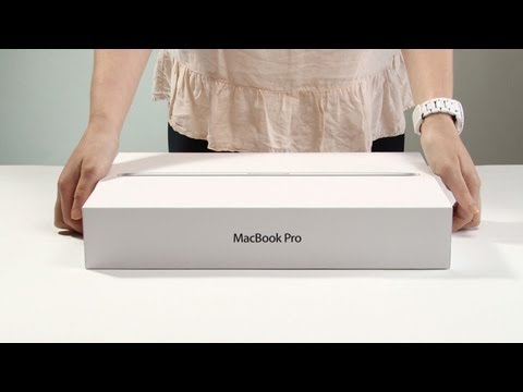 MacBook Pro Retina 2012 unboxing