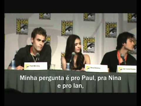 The Vampire Diaries - Comic Con 2010 - Parte 4 (Final - Legendado)