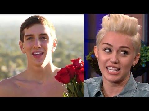 ¡Miley Cyrus Aceptó La invitación de Fan Desnudo!