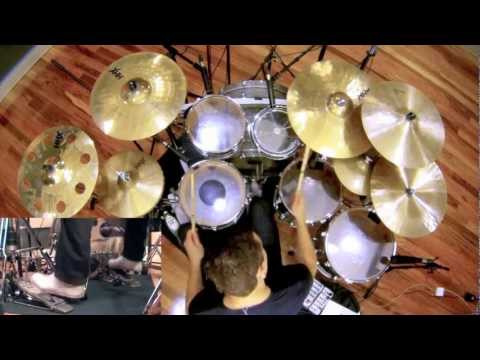 Meshuggah - ObZen Album Medley Drum Cover by Troy Wright