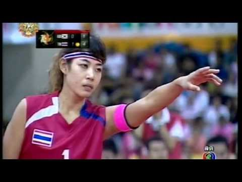 Sepak takraw ISTAF Super Series 2011 Women's team Final -Korea vs Thailand (Part2)