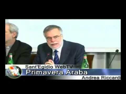 Primavera Araba. Verso un nuovo patto nazionale. L'intervento di Andrea Riccardi