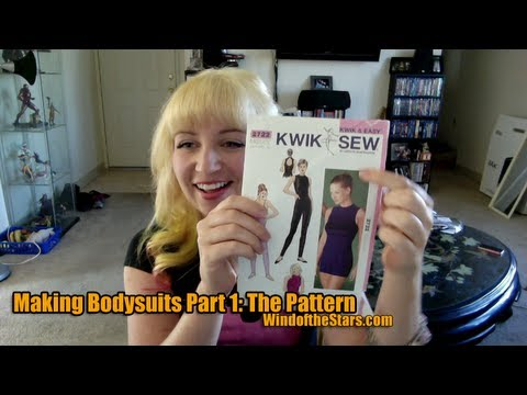 Making Bodysuits Part 1: The Pattern