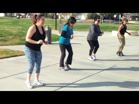 Watch: Slimming down with Zumba