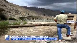 PETACC alerta ante crecida de las aguas del Río ICA