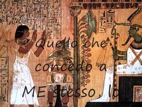 Consapevolezza di Sè nell'Antico Egitto.